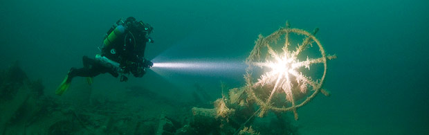 Diving to wrecks with Atlantic Diver.