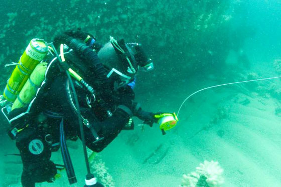Wreck diving off Newquay